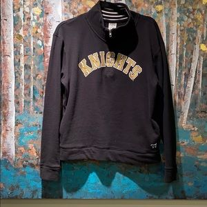 Victoria secret pink UCF Knights pullover sweater
